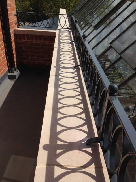 bespoke balcony railings