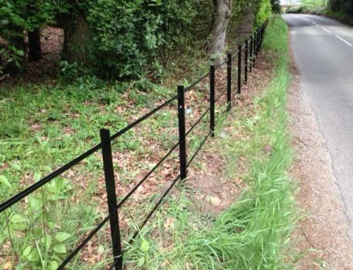 New estate railings