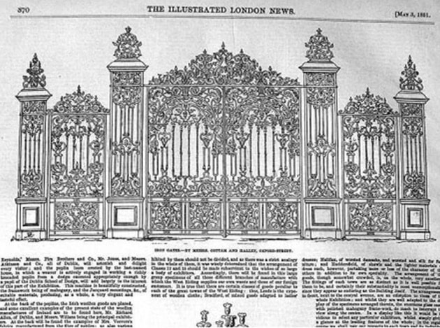 Rackheath Hall Golden Gates
