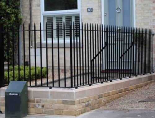 Simple Victorian Railings